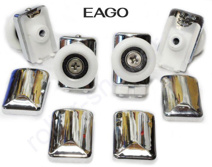 Ролики для душевых кабин EAGO  Dorff (Комплект 4шт)