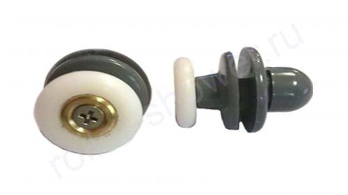 Ролик VH045. Диаметр колеса (от 18,6 до 28мм)  Для кабин Golf (Гольф), Potter (Поттер), quapolo (Акваполо) и аналогов