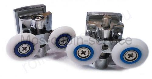 Ролик для душевой кабины VH020 Cezares. Диаметр колеса (от 18,6 до 28мм) (комплект 8шт)